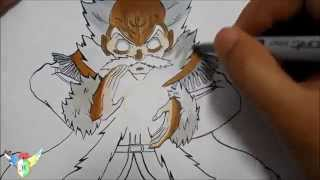 Copic speed draw Makarov Dreyar マカロフ・ドレアー