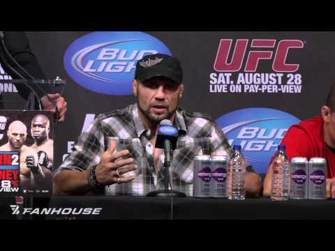 UFC 118: Randy Couture Thought James Toney Fight Would End Like it Did