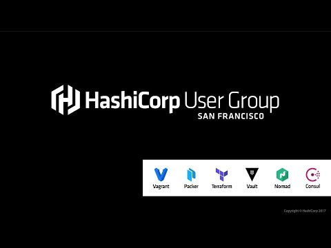 San Francisco HashiCorp User Group: Terraform 0.10 & Credit
