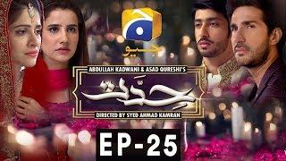 Hiddat - Episode 25 | Har Pal Geo
