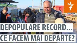 """Punct și De La Capăt: """"În Moldova Este O Criză Demografică Absolută"""" (RUS)"""