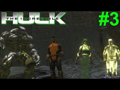 The Incredible Hulk (08) PS3 Gameplay #3 [Hulk vs Puny U-Foes]