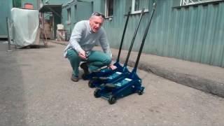 видео Устроиство гидравлического домкрата бутылочного типа и особенности его конструкции