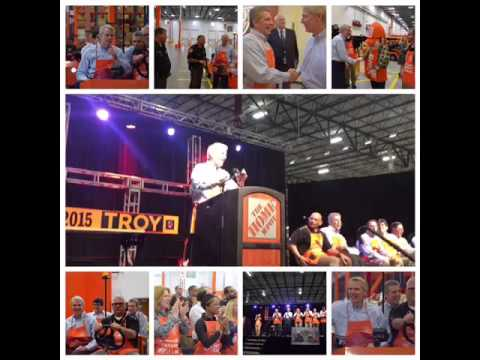 Portman Attends Home Depot Center Ceremony in Troy Township