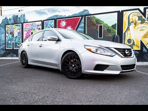 How to install godspeed coil springs on a  2016 Nissan altima at home! for only 130$