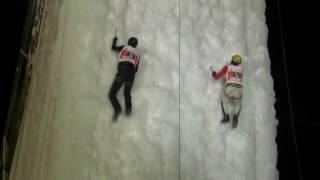 Второй этап Кубка России по ледолазанию, скорость