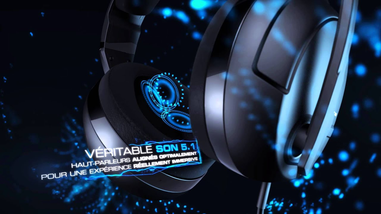 77ae4bb3a1a ROCCAT Kave XTD 5.1 Analog | Trailer Officiel [FR] - YouTube