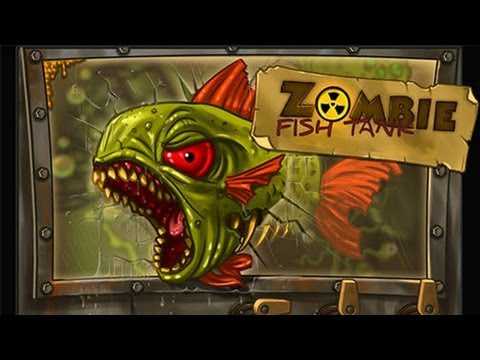 Zombie Fish Tank - IPhone/iPod Touch/iPad - Gameplay HD