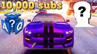 10,000 subs FAQ! When will I do a Face Reveal? What's my laptop? & more!