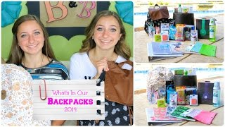 What's in Our Backpacks 2014 | Back-to-School Supplies Thumbnail