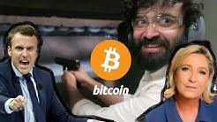 L'avis de LEPEN et MACRON sur le bitcoin  ?!