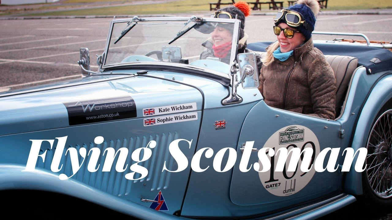 THE FLYING SCOTSMAN VINTAGE CAR RALLY 2017 - Dalwhinnie Distillery ...