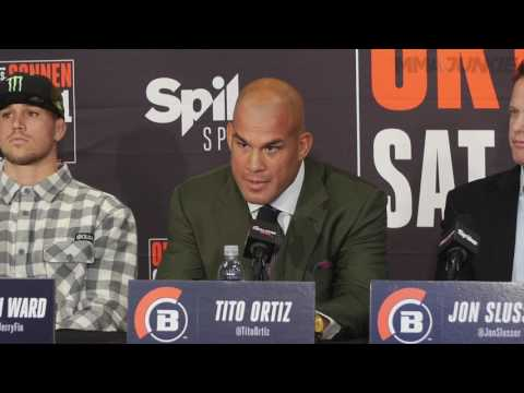 Tito Ortiz vs. Chael Sonnen Bellator 170 Weigh-In Staredown from YouTube · Duration:  2 minutes 39 seconds