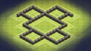 Clash of Clans - TH4 Farming Base (GoldLove)