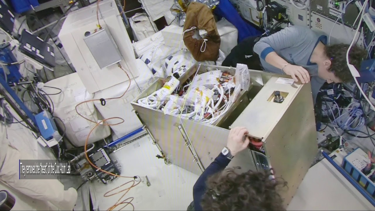 Working Remotely : How Astronauts Upgraded a Complex Experiment in Space