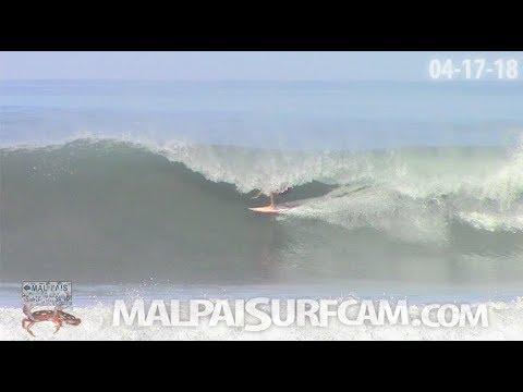 Surfing Costa Rica, www.malpaisurfcam.com 04-17-18