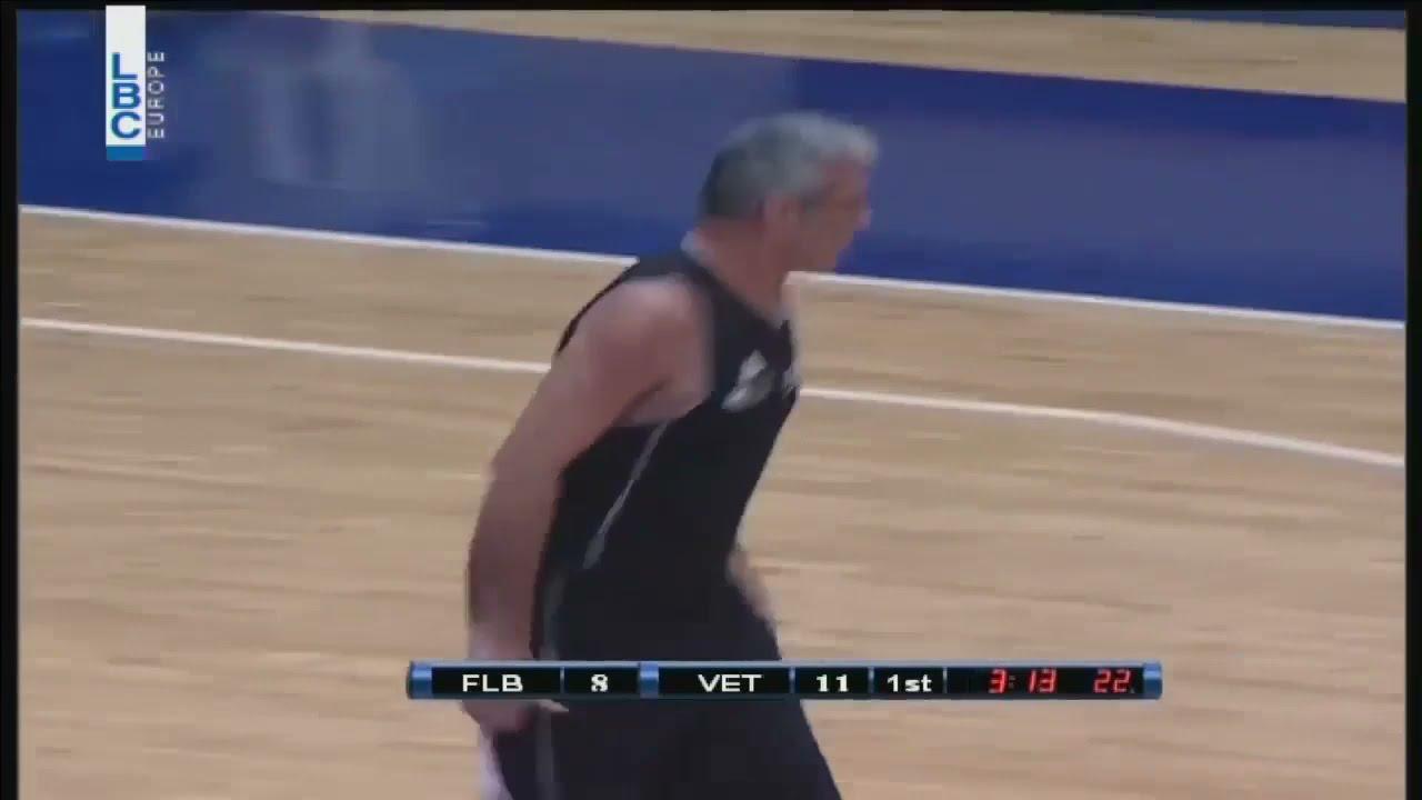 FLB v/s Veterans - مباراة بين القدامى وأعضاء الإتحاد اللبناني لكرة السلة  - 16:59-2021 / 5 / 11