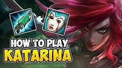 How to Play KATARINA MID for Beginners | KATARINA Guide Season 10 | League of Legends