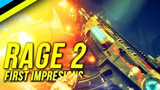 RAGE 2 First Impressions - THE FPS Of The Summer?