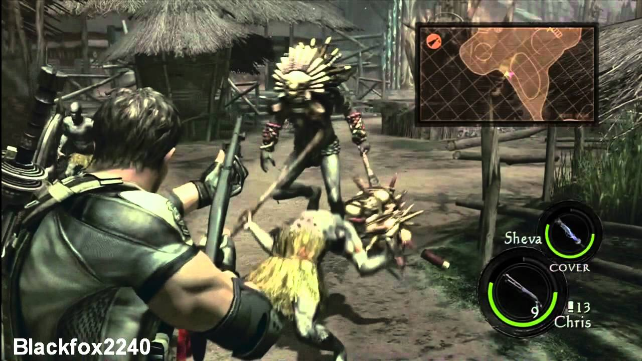 Resident Evil 5 Chapter 3 1 Marshlands 2 2 Walkthrough Part