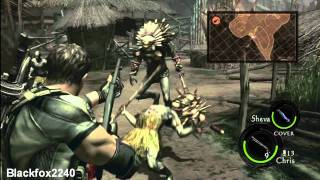 Resident Evil 5 - Chapter 3-1 - Marshlands 2/2 - Walkthrough Part 10