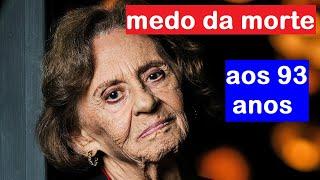 Aos 93 anos, atriz Laura Cardoso fala sobre ter medo da m0rte...