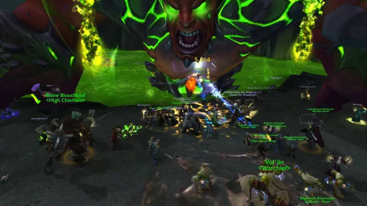 World Of Warcraft Legion intro. Horde side