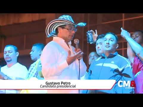 'Colombia hoy se parece a Venezuela': Gustavo Petro
