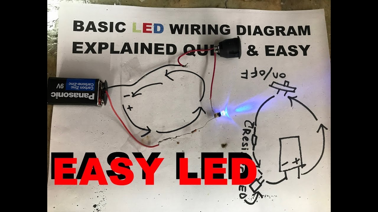 How To Wire Led Lights Best Tips And Tricks Youtube Basic Wiring Diagram