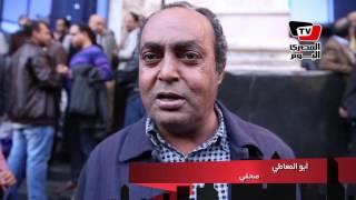 وقفة «حريات الصحفيين»: «مطالبنا هي هي..عيش حرية عدالة إجتماعية»