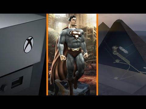 Xbox One X... Worth It? + Rocksteady Superman Reveal SOON? + Great Pyramid Mystery