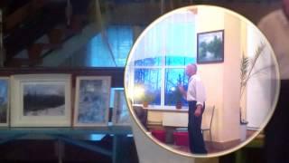 Прокопьевский поэт и художник. Выставка картин Владимира Шишкина
