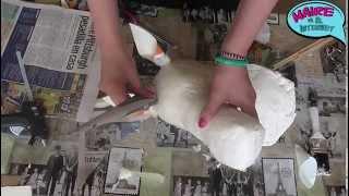 Cómo hacer una cabeza de unicornio. Maire vs El Internet.