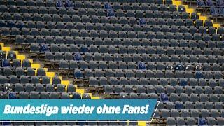 Wegen Corona: Bundesliga-Partien werden wieder Geisterspiele