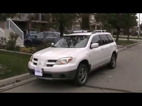 2005 Mitsubishi Outlander Startup Engine & In Depth Tour