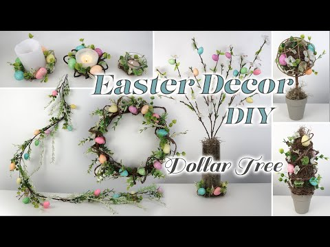 Dollar Tree DIY Easter Decor