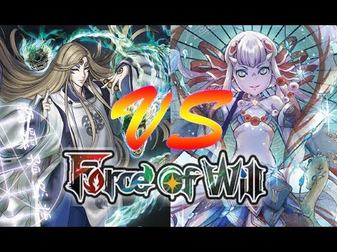 Force of Will (TCG) Feature Match: Gryphonless Fox vs. WUG Shaela Control