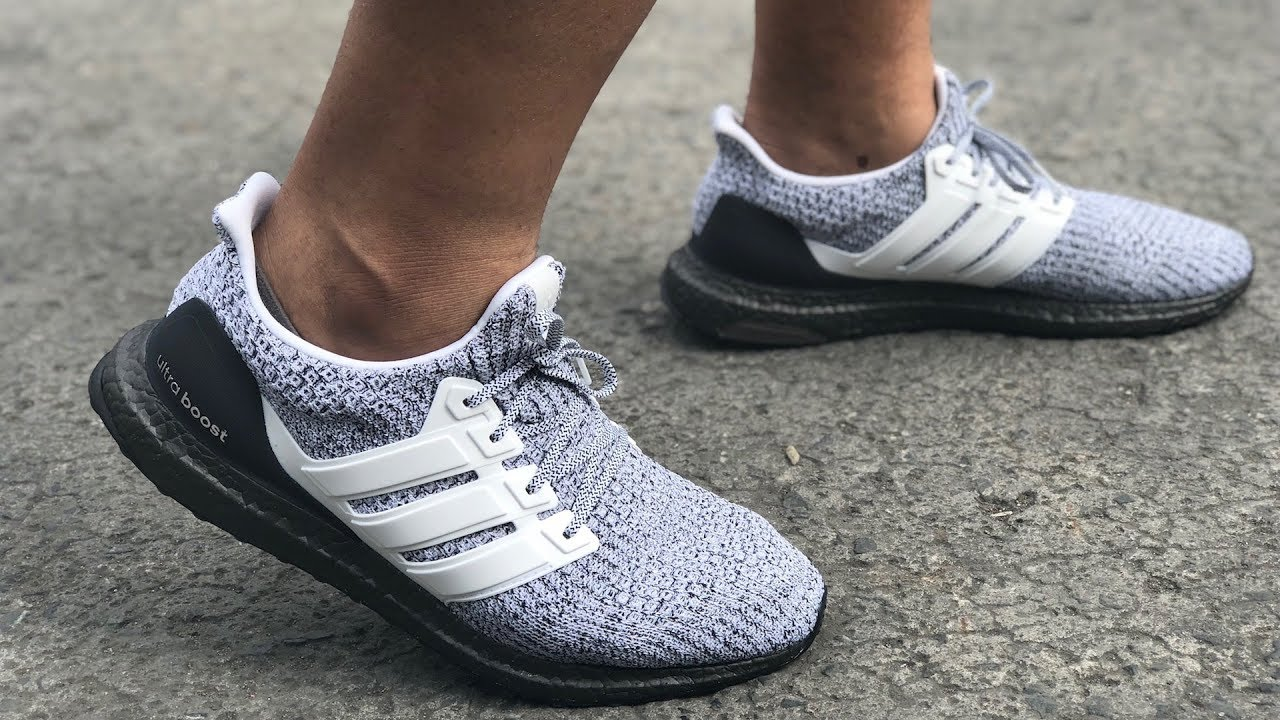 adidas Ultraboost 4.0 Show Your Stripes Tech Ink White Men Running