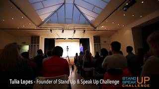 Stand Up & Speak Up Challenge Zurich - Tulia Lopes Closing