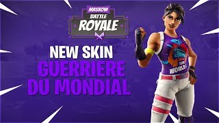 "New skin ""Warrior of the World"" Fortnite Battle Royal boutique Thursday, July 26, 2019!"