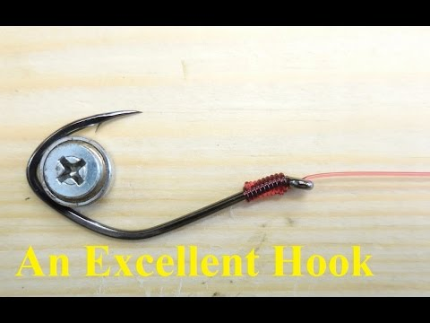 An Excellent Fishing Hook For Bait Or Lures