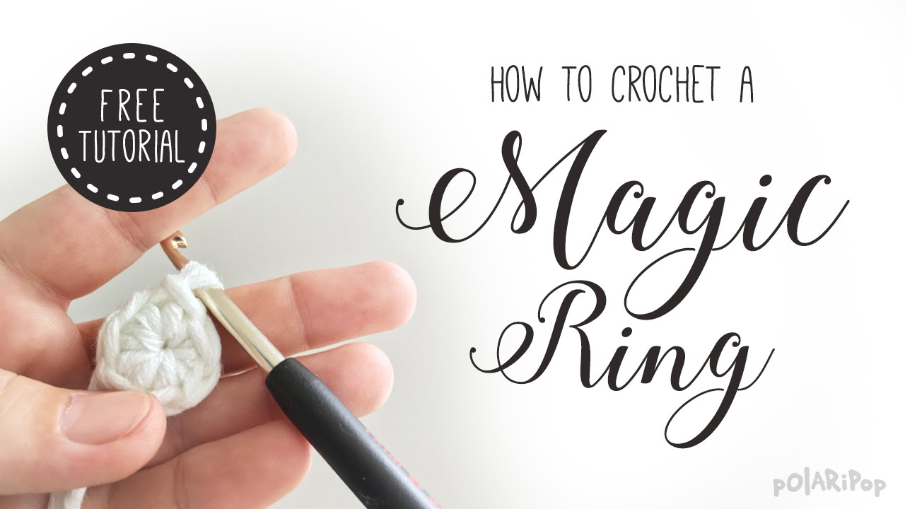 Amigurumi basics learn how to crochet a magic ring magic loop amigurumi basics learn how to crochet a magic ring magic loop magic circle baditri Images