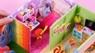 DIY Miniature House ~  10 Minute DIY Miniature Crafts