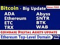 Bitcoin - Something Big Coming, ICE's Bakkt, ETF, Coinbase, #etc #ada #eth #trx #btk #sntr #Abyss