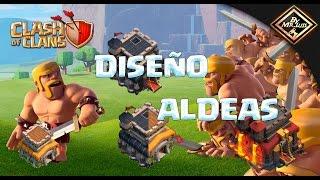 DISEÑO DE ALDEAS DEFENSIVAS PARA TH 8,8.5,9,9.5,10 Y 11 CLASH OF CLANS   clash of clans by mr luis