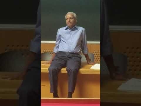 Gururaj Deshpande speaking at IIT MADRAS Biomedical Technology Summit - June 03, 2018