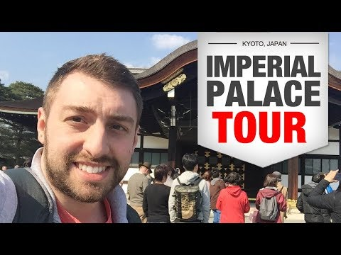 Kyoto Imperial Palace is big in Japan. [PALACE TOUR]