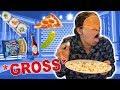 Blindfolded Popcorn Toppings Taste Test