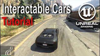 Unreal Engine - Interactable Car Tutorial