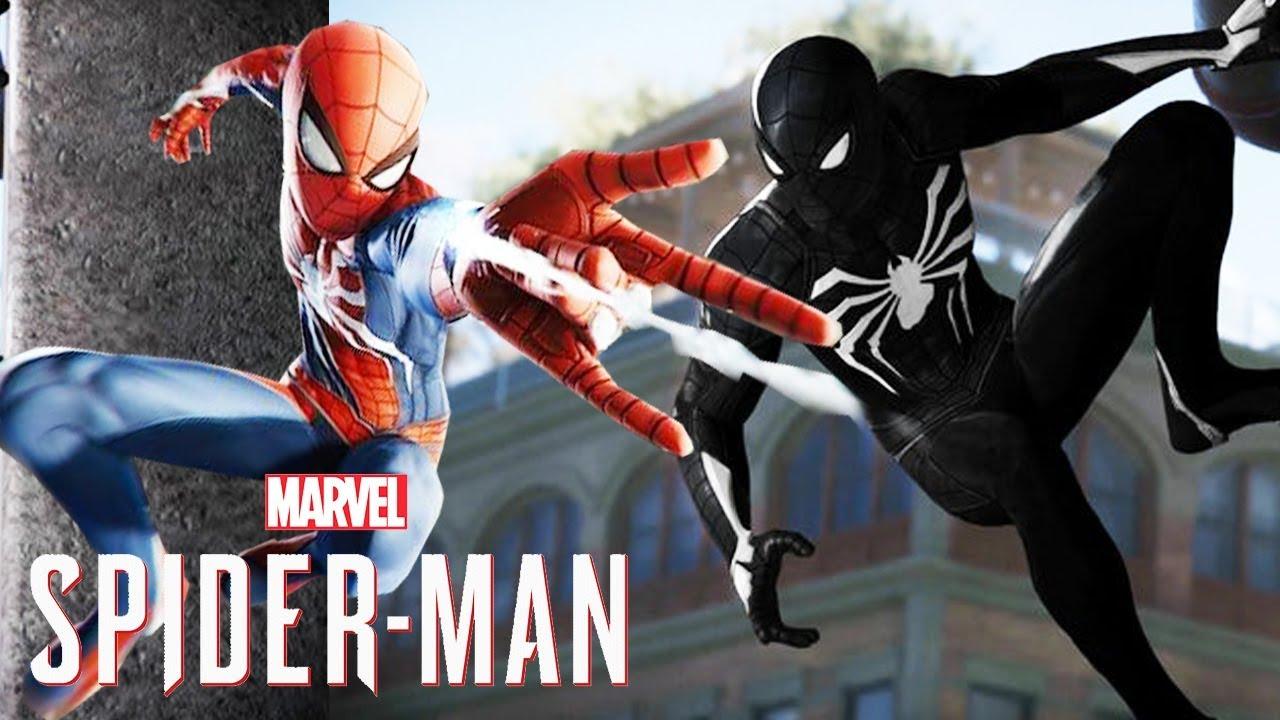 Spider-Man PS4 - Black Suit, Web Swinging Camera, Insomniac Going Against  Batman Arkham & More